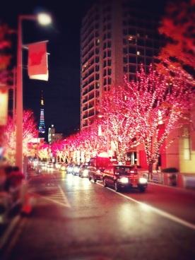 Illumination di pusat kota