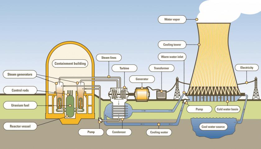 Reaktor Nuklir berada di….