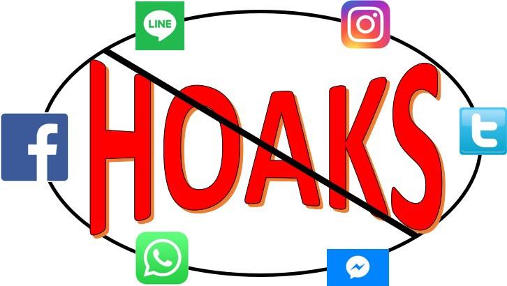 Hoaks, tidak kenal latar belakangpendidikan!!!
