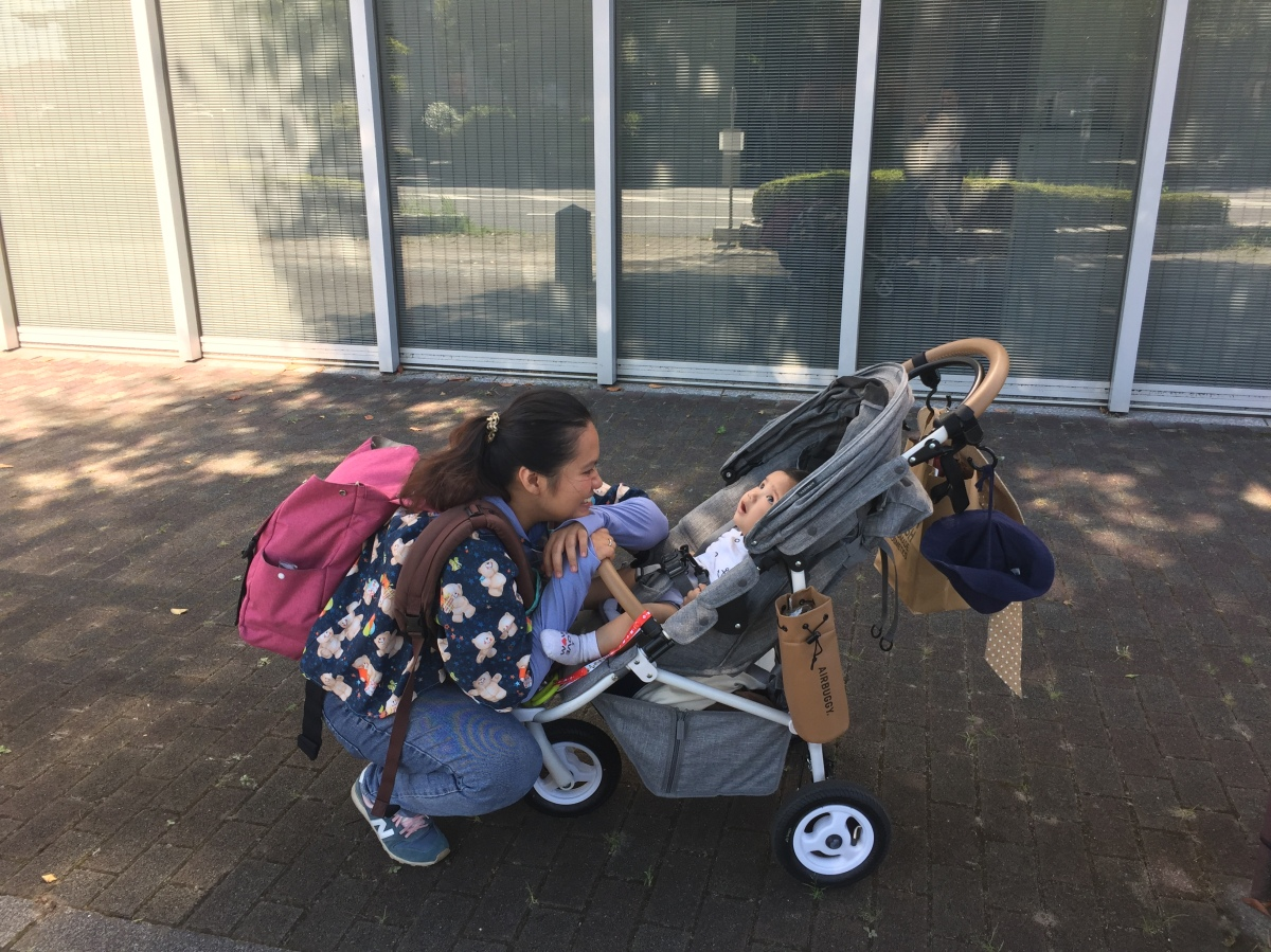 Review Stroller AirBuggy 'COCO BRAKE EX From Birth'